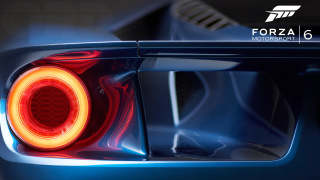 Forza Motorsport 6 Announcement Ford GT 2017 brake light