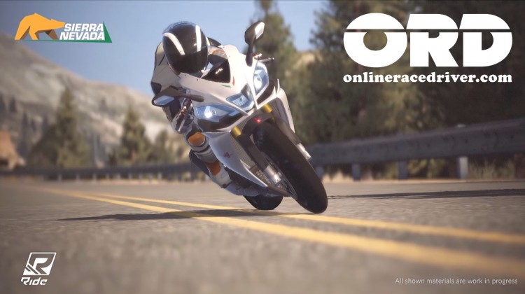 Ride Sierra Nevada 02 Aprilia RSV4 R ABS lean ridevideogame ORD onlineracedriver