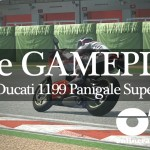 Ride Imola 02 Panigale-01 lean onto start straight vid Ducati 1199 Panigale Superleggera #ridevideogame