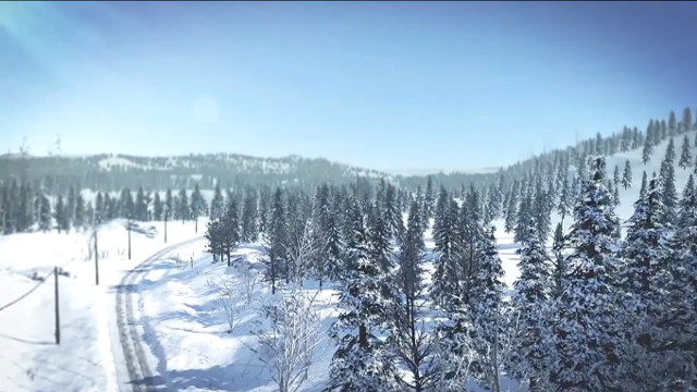 WRC 5 announcement ad flyover snow 640