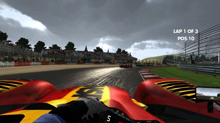 Motorsport Revolution out now for Oculus Rift