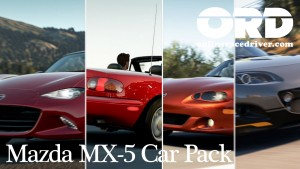 Forza Horizon 2 MX5 Car Pack onlineracedriver ORD