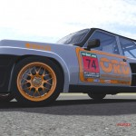 The Renault 5 Turbo won the V1 Gaming 80's TCC Class C title