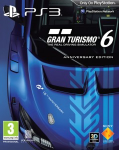 Gran Turismo 6 15th Anniversary Edition promo and draw