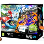 Nintendo Wii U Mario Kart 8 and Splatoon Console Bundle