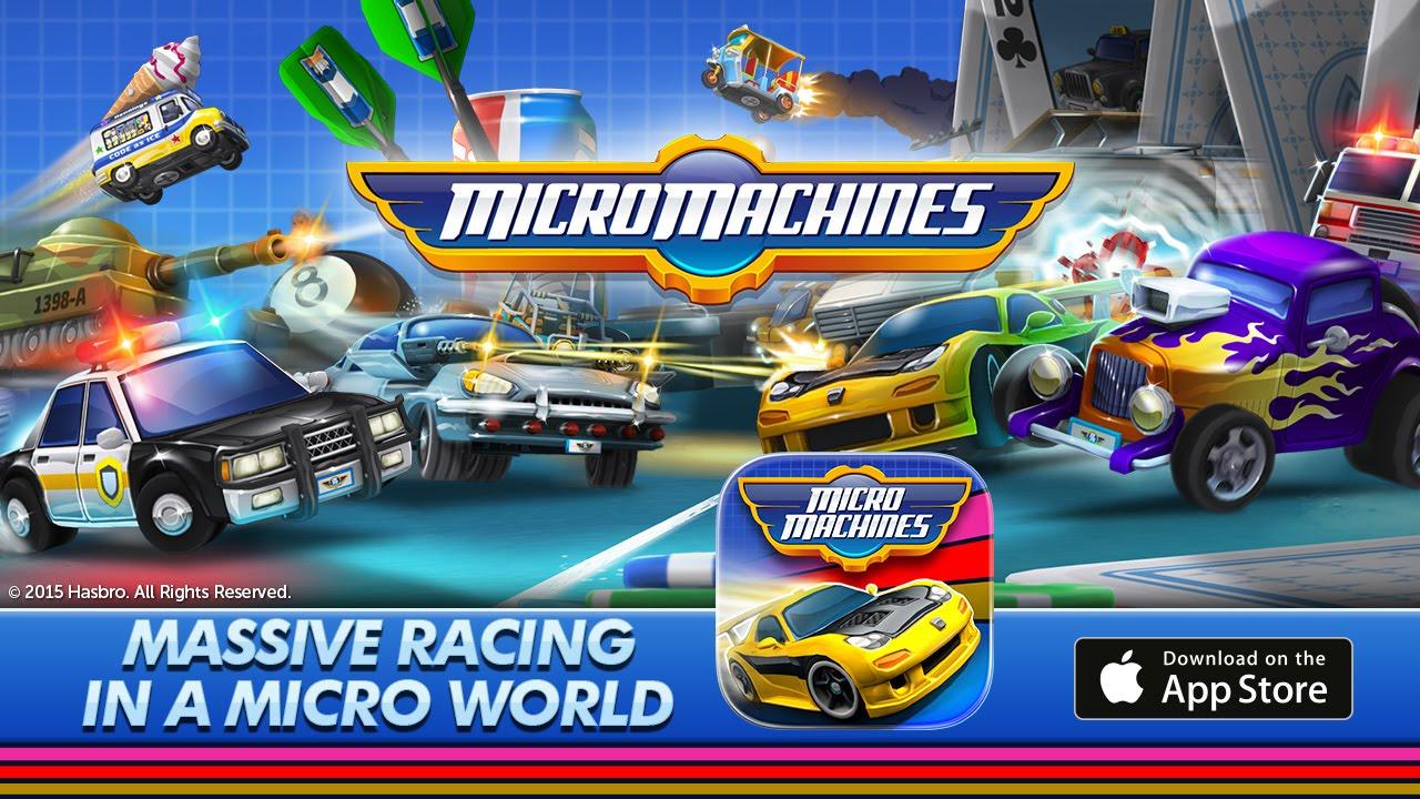 micro machines mobile game announcement trailer