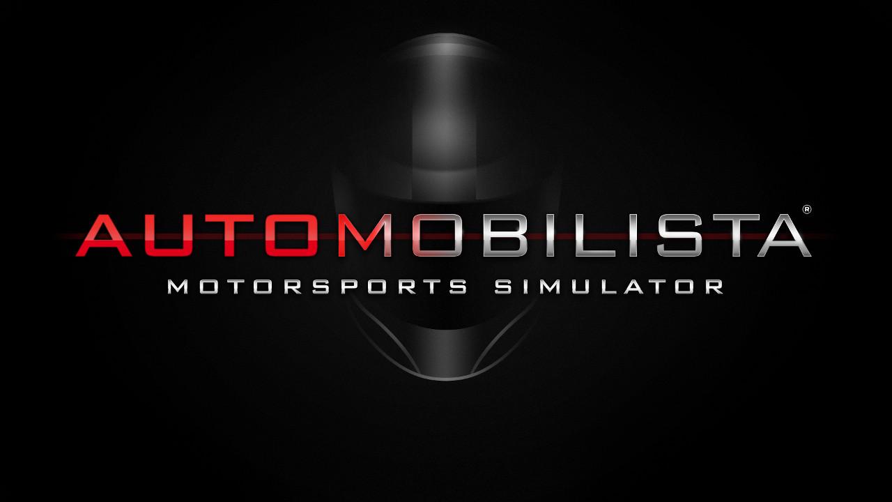 Automobilista Motorsports Simulator AMS black logo