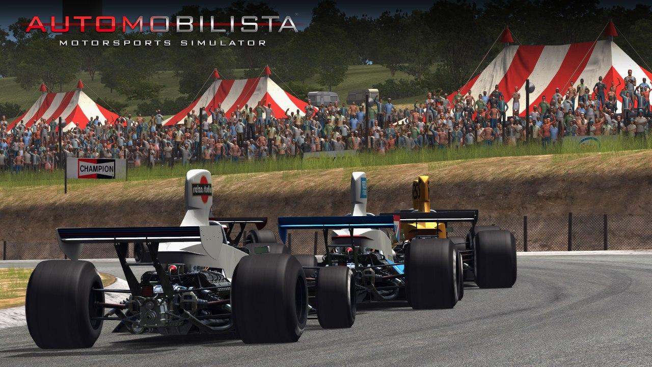 Automobilista Motorsports Simulator AMS – Formula Retro at Kyalami 76