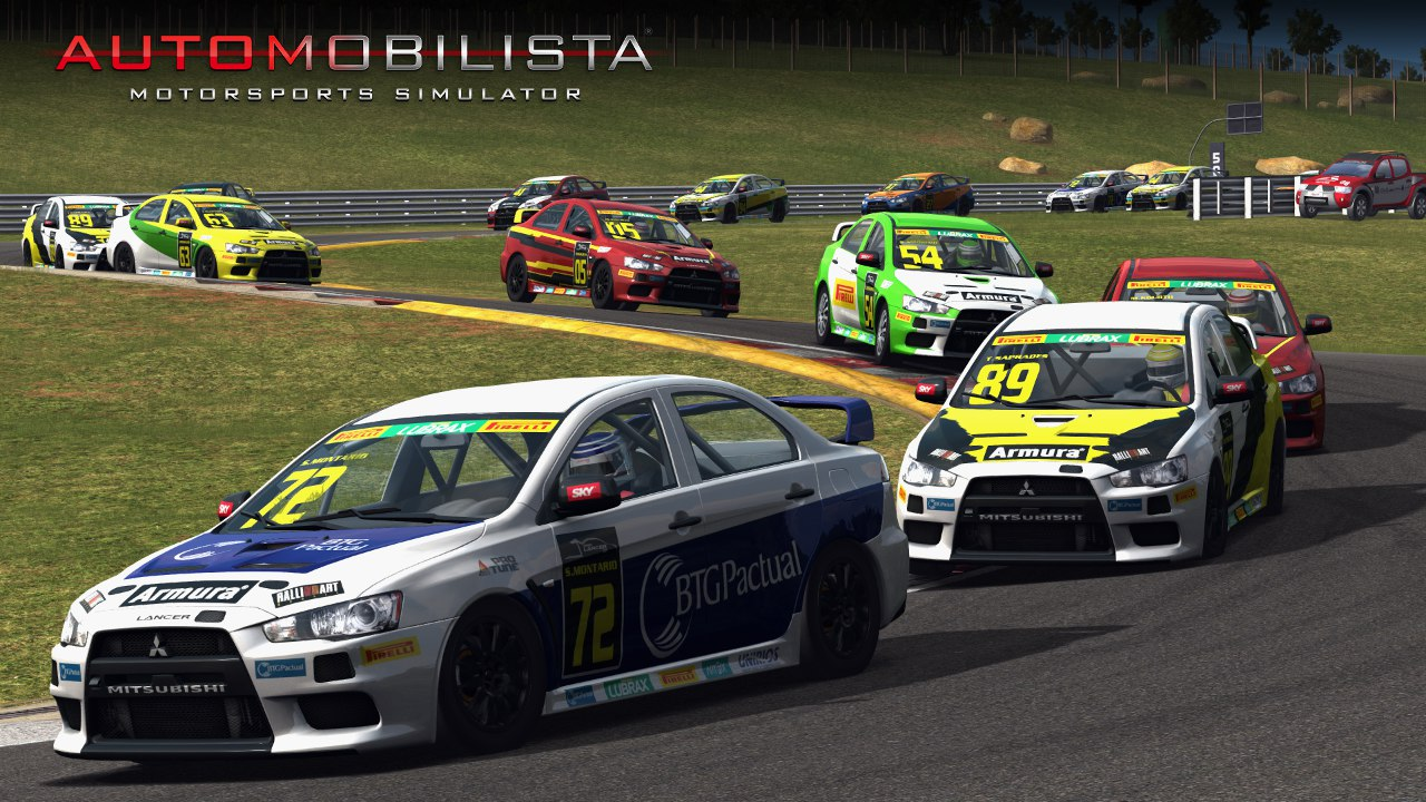 Automobilista Motorsports Simulator AMS – Mitsubishi Lancer R at VeloCitta