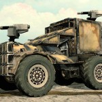 Crossout multiplayer car combat 'Battle Testing' under way