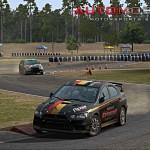 Automobilista Motorsports Simulator RallyCross Mitsubishi Lancer RX Tykki with AMS logo