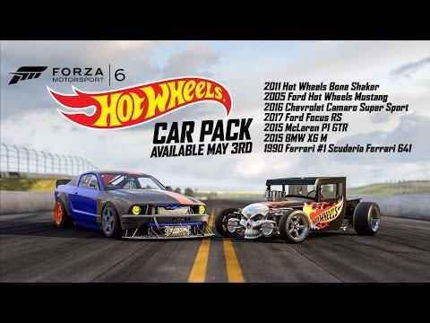 Forza Motorsport 6 Hot Wheels Car Pack Trailer