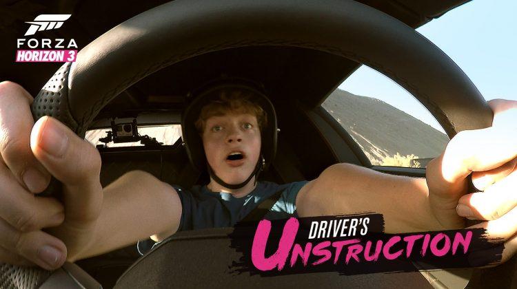 Forza Horizon 3 Driver Unstruction Promo Video