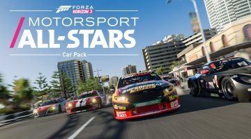Forza Horizon 3 Motorsports All Stars Car Pack Trailer