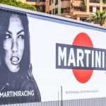 Even F1 Drivers Have To Deal With Distractions, like the legendary Martini poster at Monaco