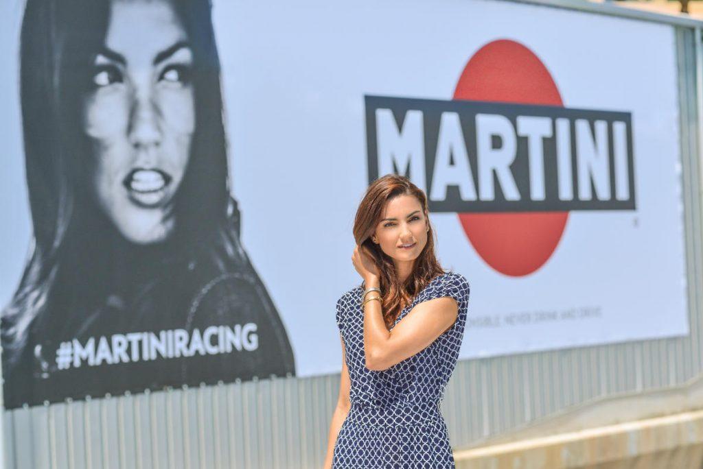 Martini Advert Monaco F1 Jessiqa Pace