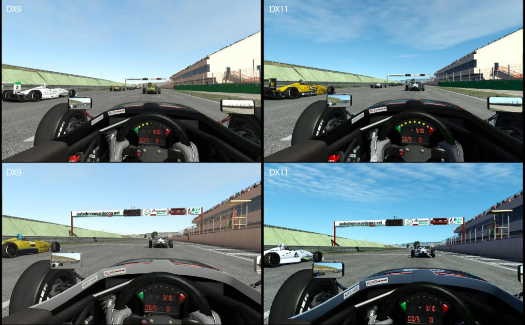 rFactor 2 DX11 Beta Release Out Including Virtual Reality - DX9 Comparison