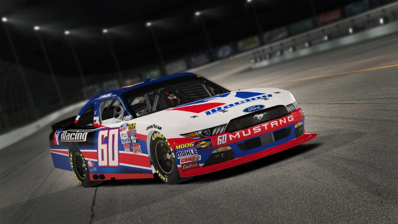 Ty Majeski NASCAR Xfinity Series Ford Mustang in iRacing