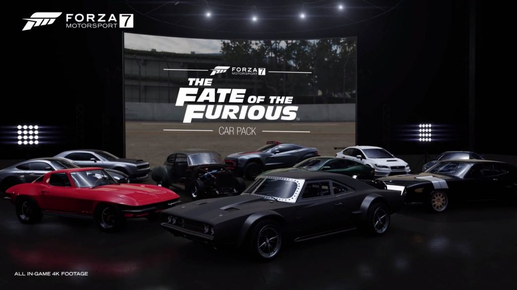 Forza Motorsport 7 Fate of the Furious Car Pack Trailer