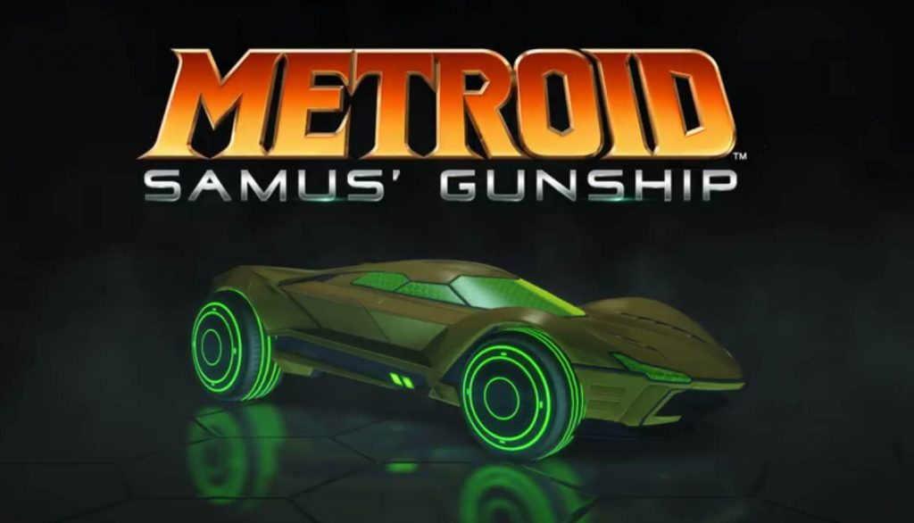 Metroid Samus Gunship Rocket League Exclusives for Nintendo Switch Edition