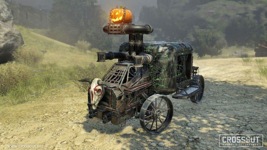 Crossout Launches New Halloween Celebration Pumpkin Car