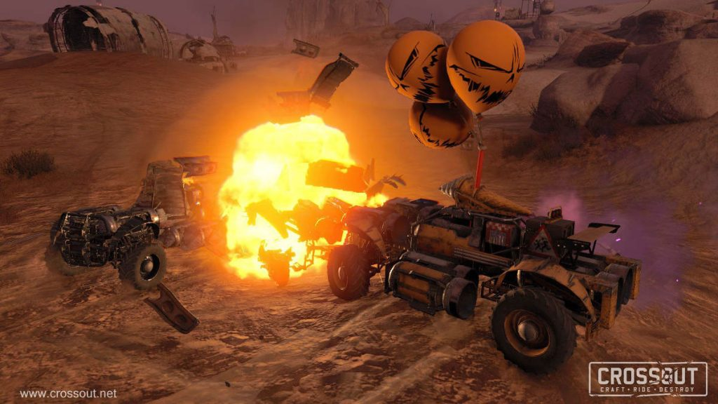 Crossout Launches New Halloween Celebration Witch Hunt