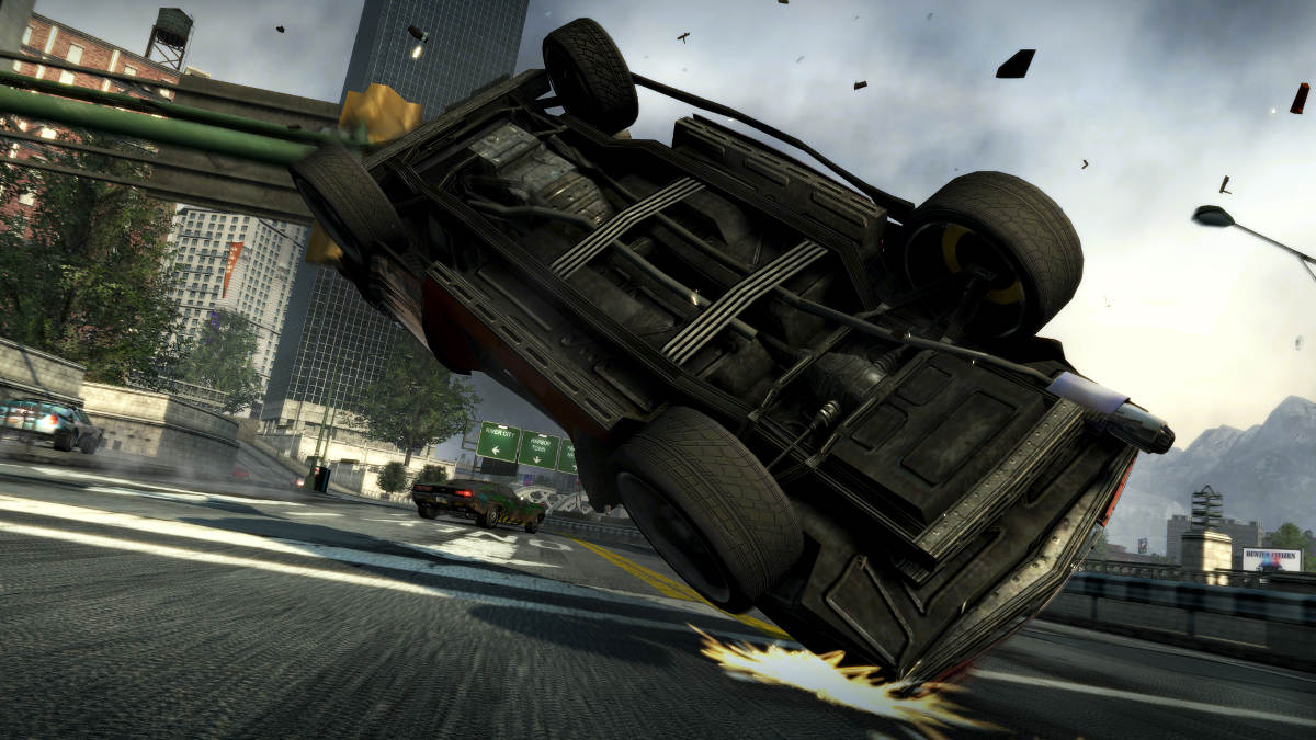 Burnout Paradise Remastered Crash Corner Slide