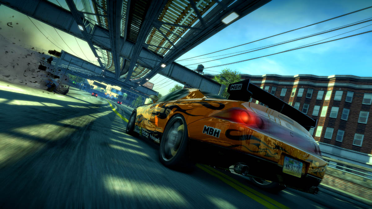Burnout Paradise Remastered CarCU RearDamage