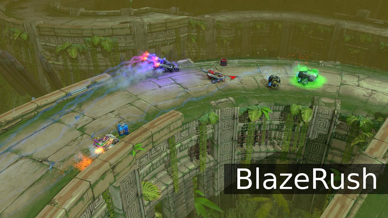 BlazeRush ruins