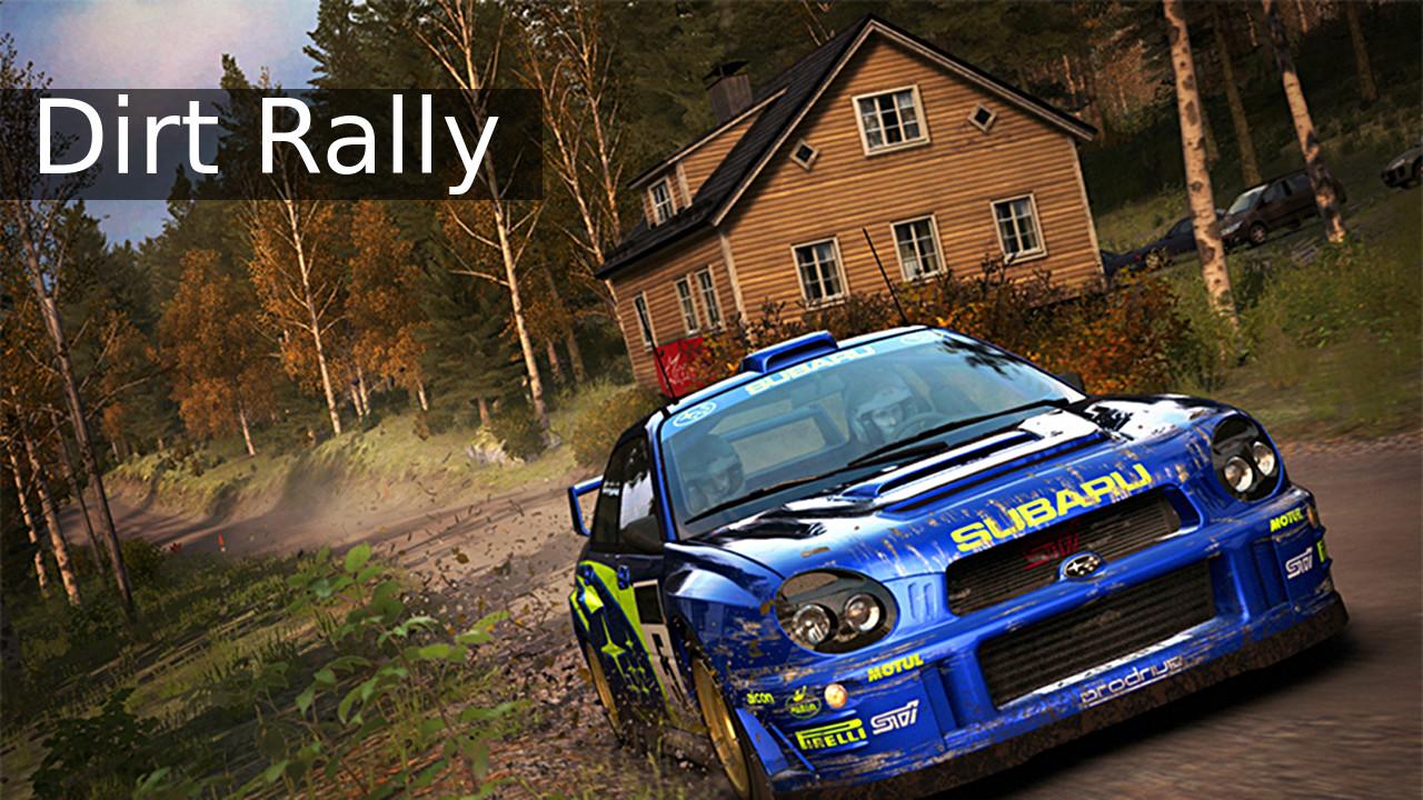 Dirt Rally Subaru Impreza in Finland