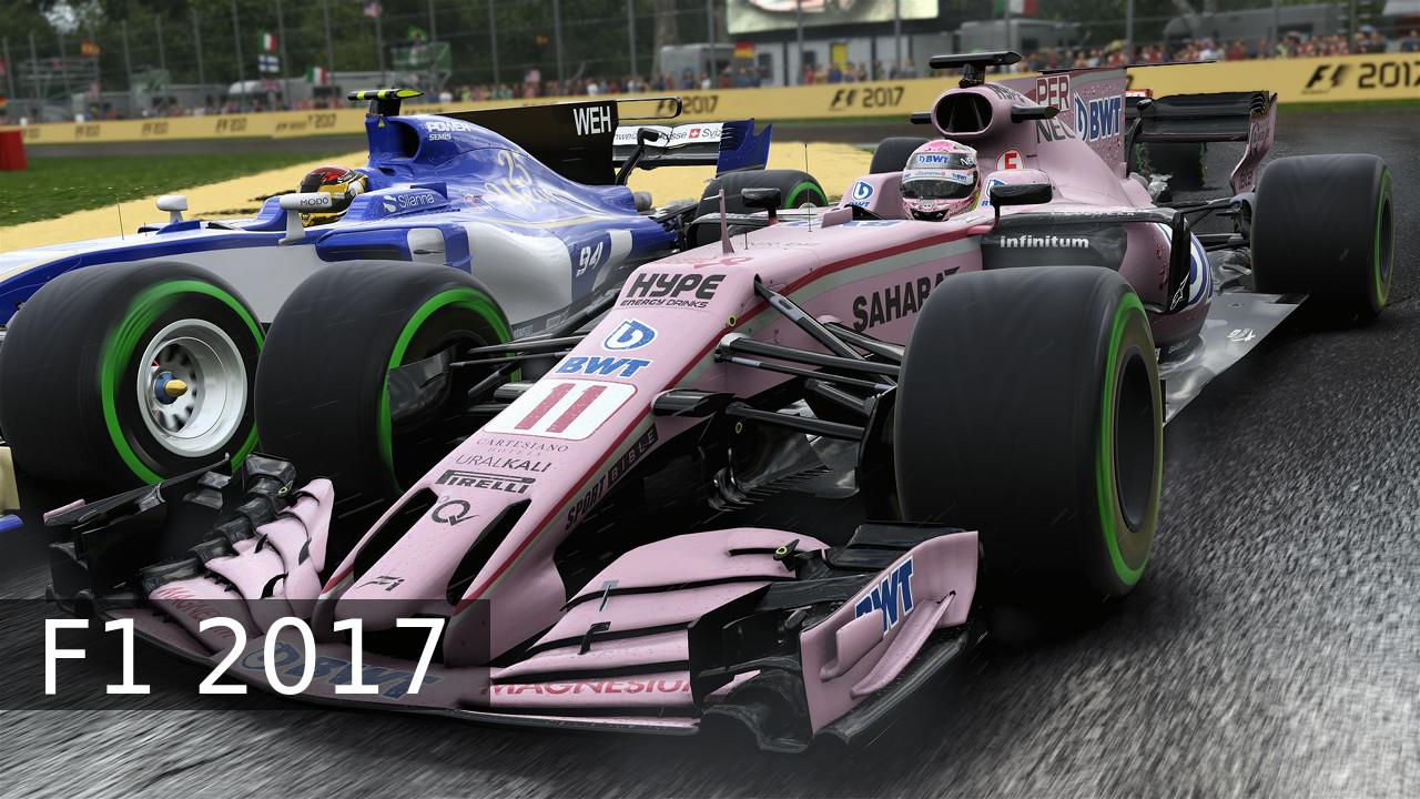 F1 2017 Sergio Perez Force India