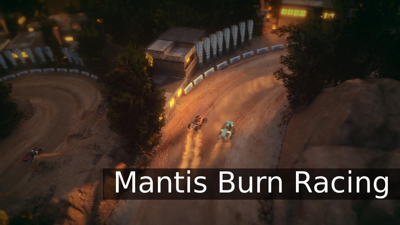 Mantis Burn Racing bar overhead