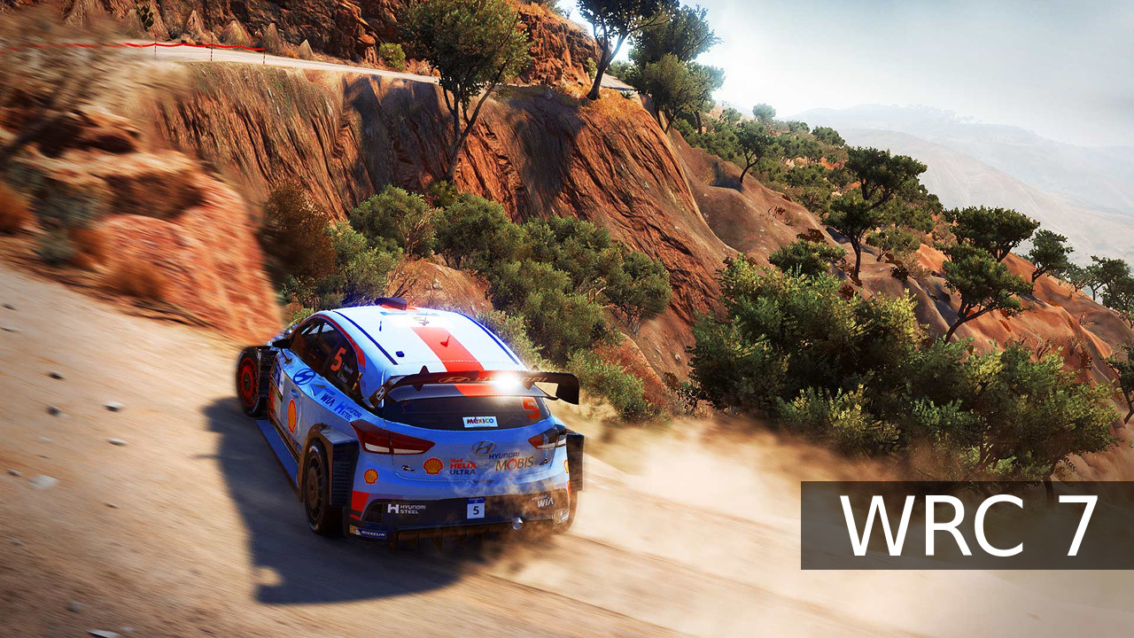 WRC 7 bar