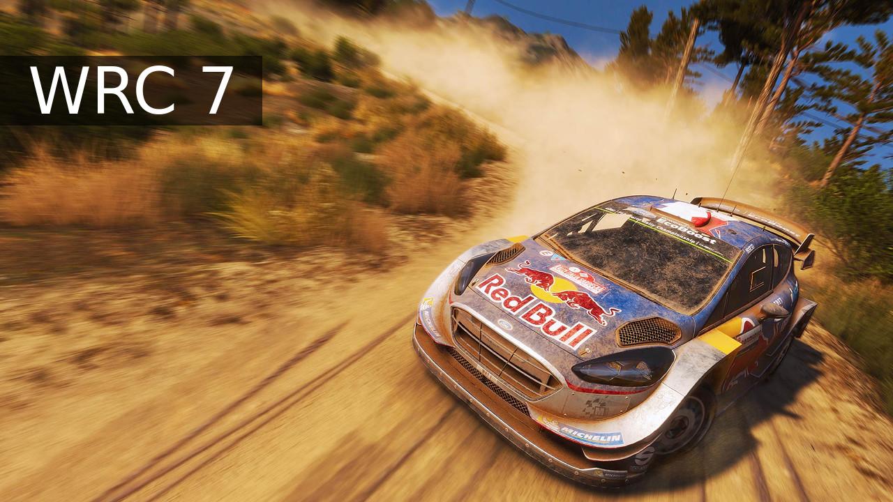 WRC 7 Ford Fiesta WRC