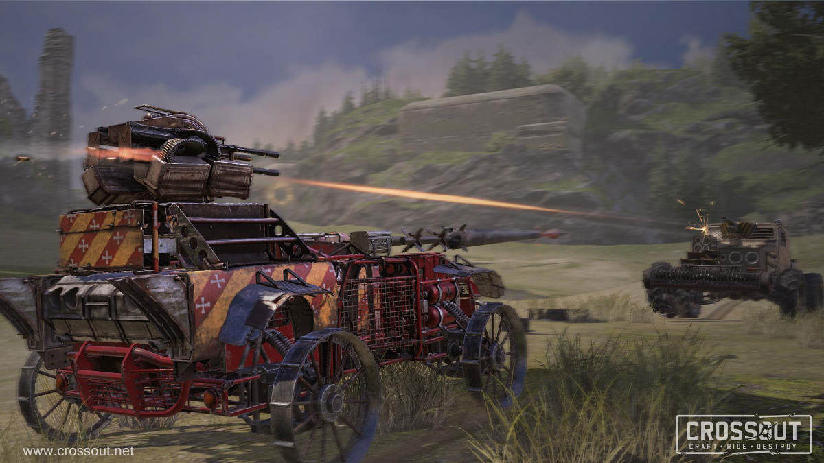 The Crossout Knight Riders Event