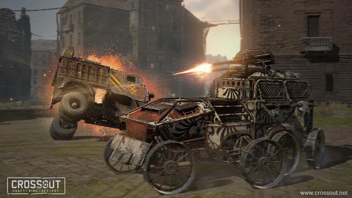 Crossout Knight Riders Event