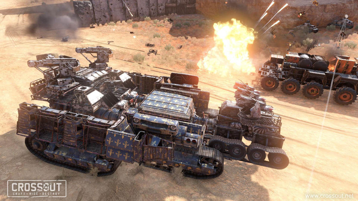 The Crossout Knight Riders Event Brings New Vehicle Coupling Mode