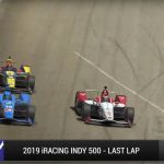 The 2019 iRacing Indy 500 saw an epic finish