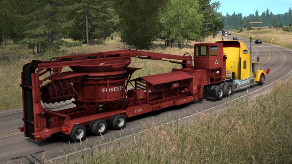 No idea what this is, but it's included in the ATS Forest Machinery DLC and West Coast Bundle offer