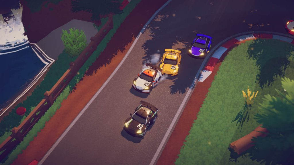 Circuit Superstars is probably the best looking top-down racer to date