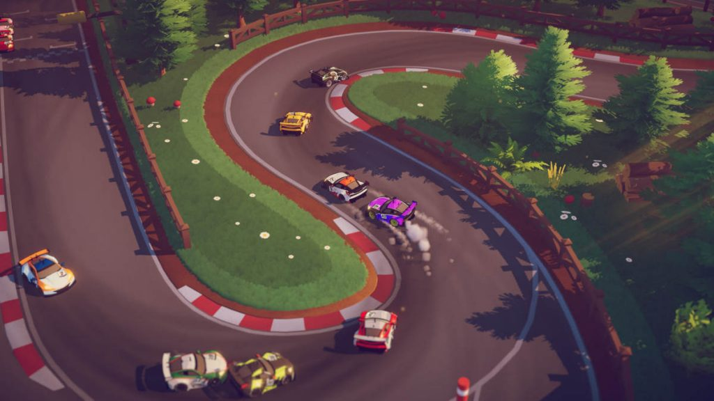 The tracks and locations of Circuit Superstars look almost as good as the cars