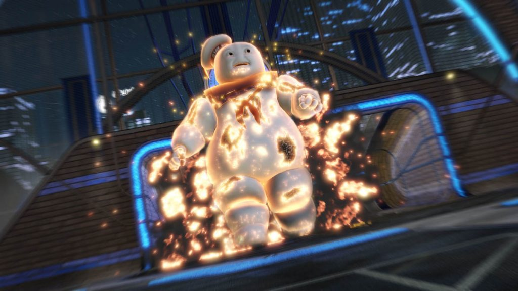 The new Stay-Puft goal celebration looks suitably epic