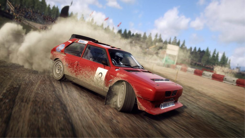 The DiRT Rally 2.0 Lancia Delta S4RX