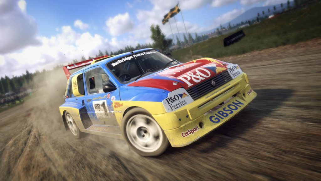 The DiRT Rally 2.0 MG Metro 6R4