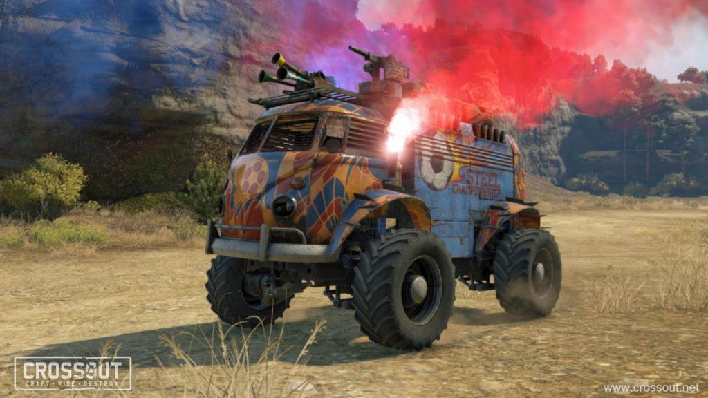 The armoured Fan Van is available as paid Third Time pack DLC
