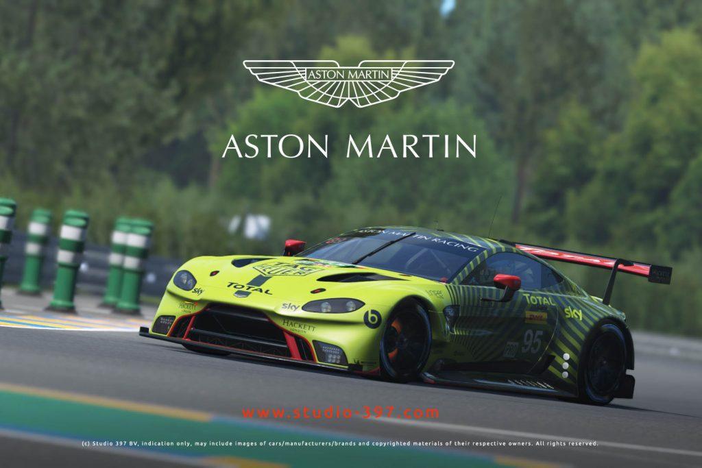 Aston Martin Vantage GTE announced for rFactor 2