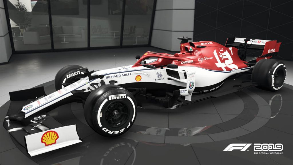 The F1 2019 Visual Update Alfa Romeo