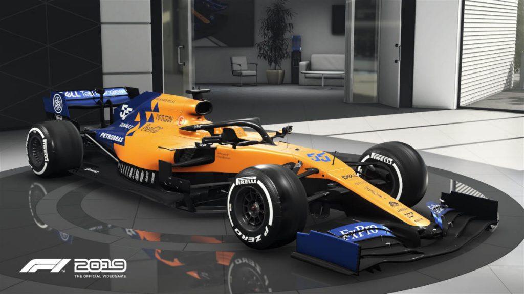 The F1 2019 Visual Update McLaren