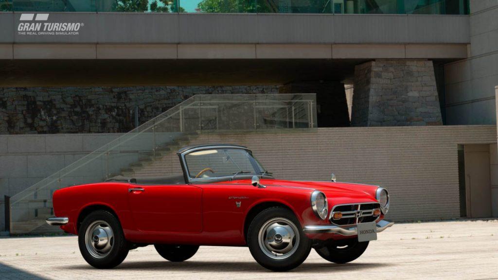 The Gran Turismo Sport Honda S800 1966 N100