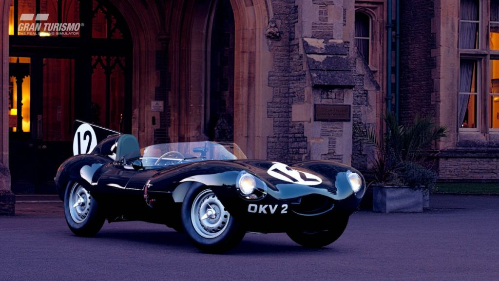 The Gran Tourismo Sport Jaguar D-type 1954 Gr.X